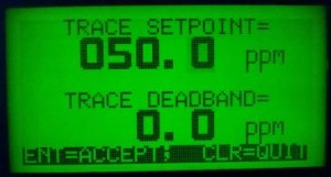 1575e Displaying Trace setpoint range