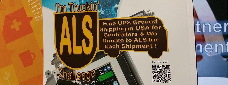 I'm Trucking' ALS Challenge