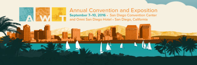 See You at Our Booth 201 in San Diego AWT