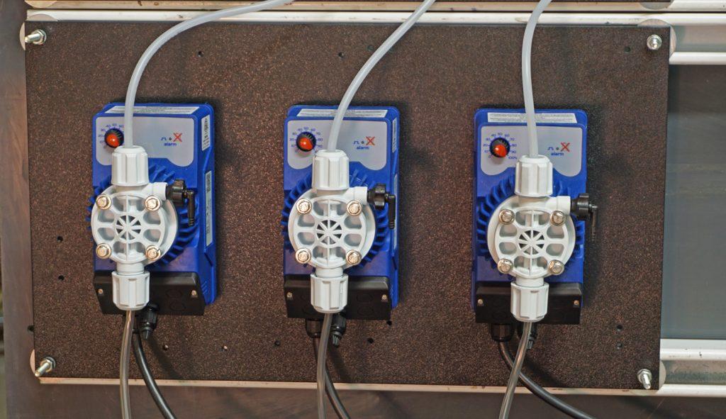 3 pump mini panel