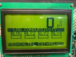 1575e alarm screen